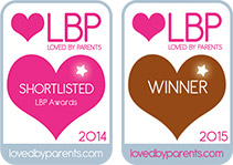 Lovedbyparents Best Electronic Toy Bronze Award