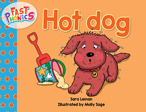 Hot dog decodable book