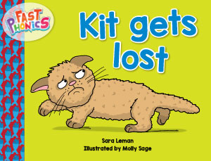 Kit gets lost decodable book