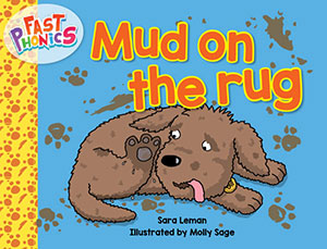 Mud on the rug decodable book