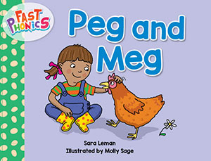 Peg and Meg decodable book