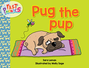 Pug the pup decodable book