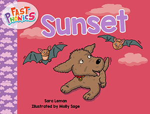 Sunset decodable book
