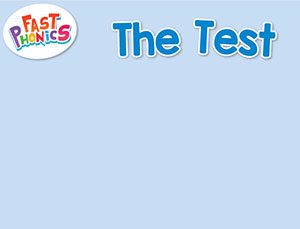 The test decodable book