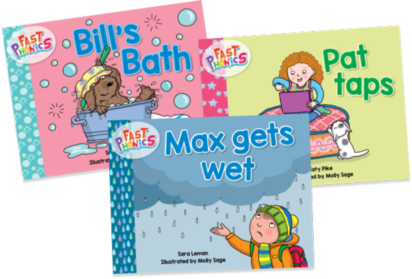 Fast Phonics games books