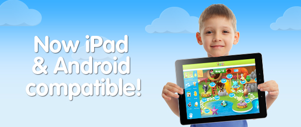 Now iPad & Android compatible!