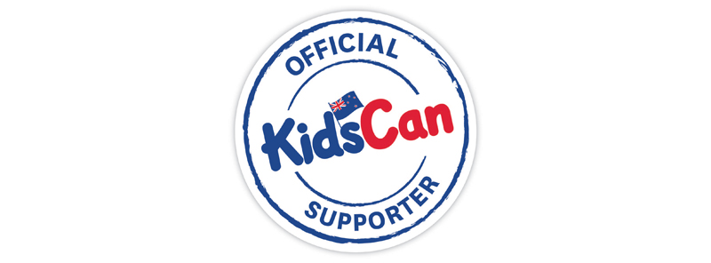 Proudly fundraising in support of KidsCan