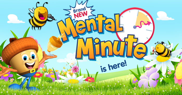 Mental Minute is here - build math fact fluency