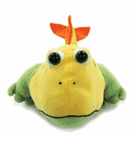 Frogfish Reading Eggs critter puppet