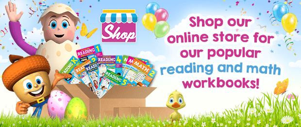 Shop our online store for our popular reading and math workbooks
