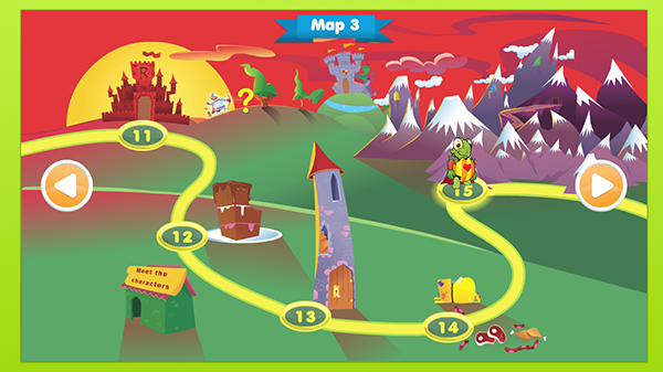 One of the maps from Storylands
