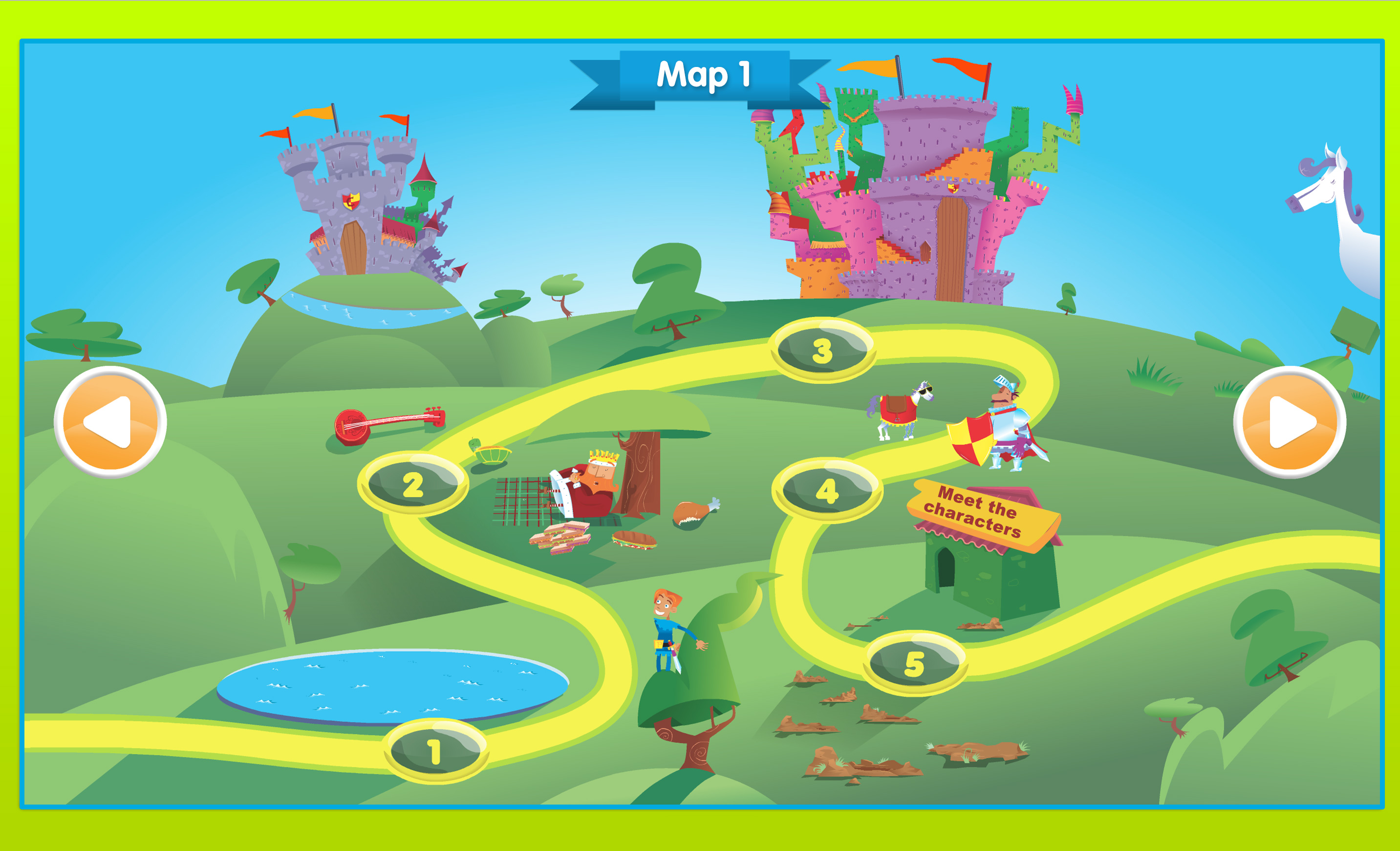 Storylands map 1