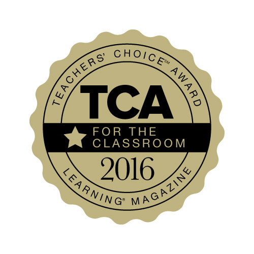 Learning Magazine 2016 Teachers' ChoiceSM Award for the Classroom
